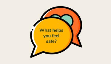 What helps upi feel safe?